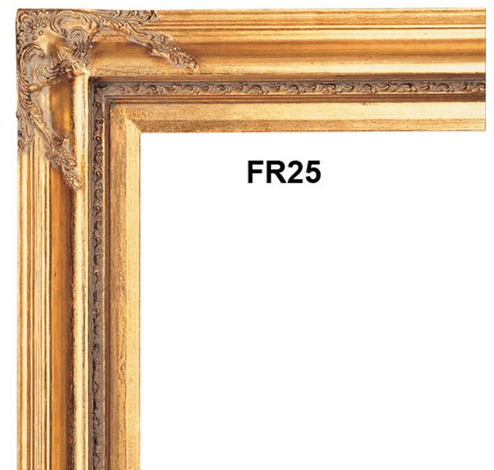 20x30 Frame 30 Brown Wood Frame Mainstays 20x30