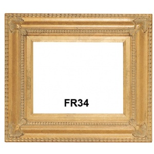FR34 ANTIQUE GOLD WITH GOLD LINER