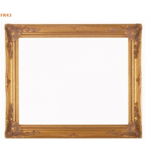 FR43 ANTIQUE GOLD COMPO FRAME