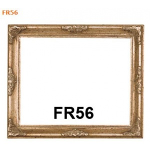 FR56 Antique Silver Compo Picture frame