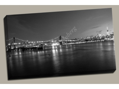 New York Black and White Print