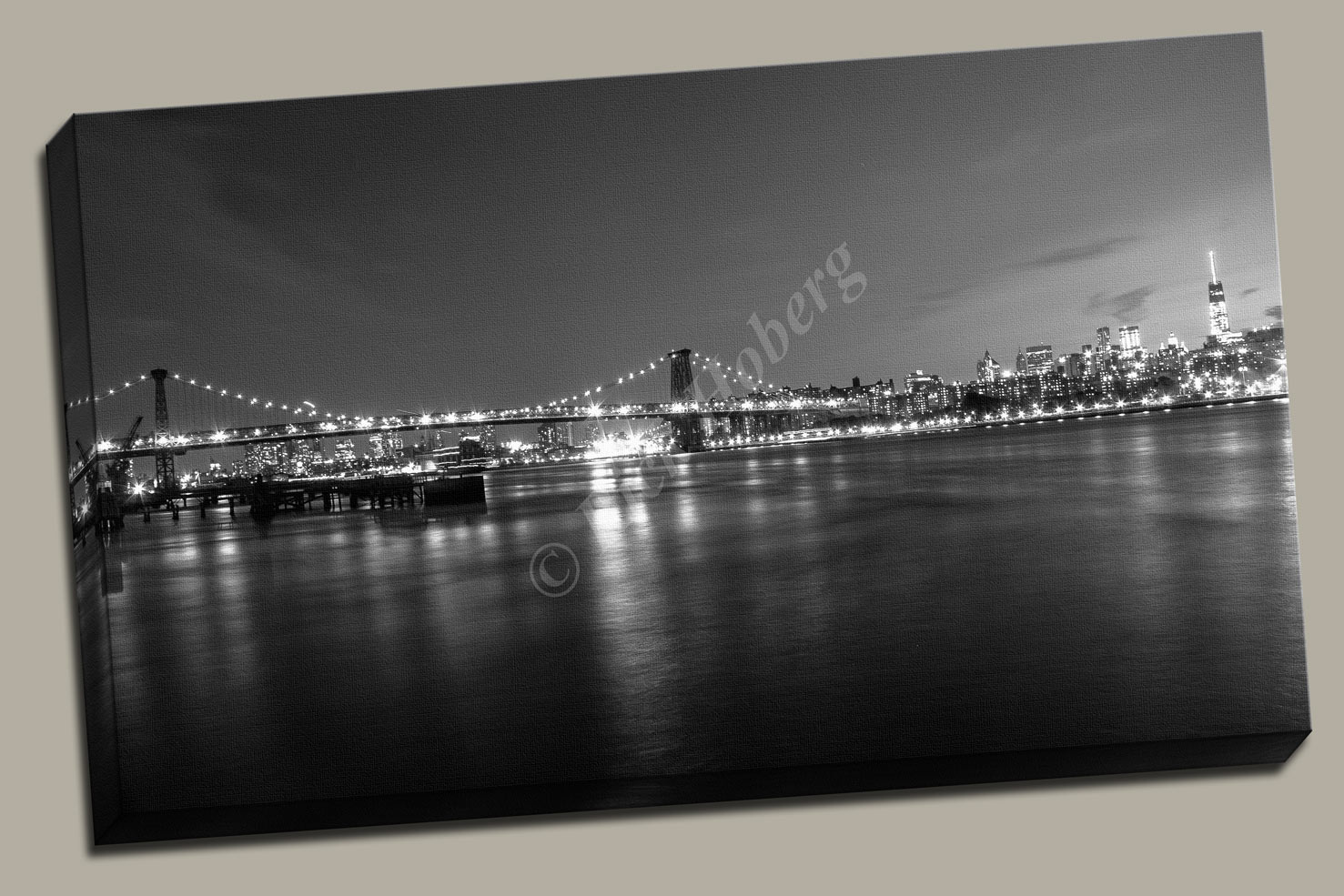 New York Black and White Photography Print