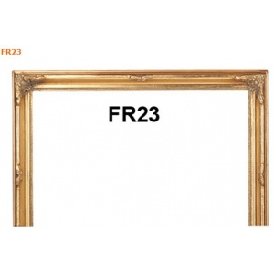 FR23 11X14 Antique Gold Ready Made frame
