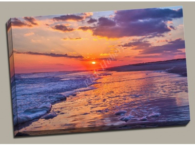Canvas Print Peaceful Sunset Robert Moses State Park