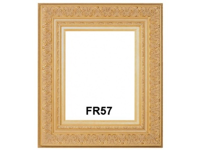 FR57 Gold Ornate Ready Made frame with Liner